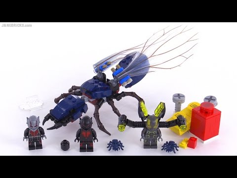 LEGO Super Heroes Ant-Man Final Battle review! set 76039 poster