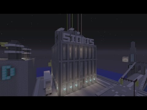 Minecraft Gotham City: Sionis Steel Mill
