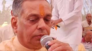 23-02-2020 Apt.Jaymeshanandji,Shamalbhai Bhagat & Amitaben Patel Kirtan Bhakti At Sayam Dham, Singod