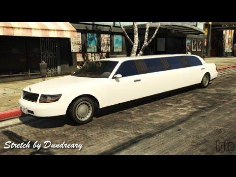 GTA 5 Car Crash Compilation - Stretch (Lincoln Limousine)