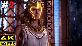 Assassin's Creed Odyssey Fate of Atlantis Gameplay Walkthrough | Part 2 (4K 60FPS)