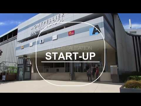 Présentation de la spé Start-up de Montpellier Business School - Promo 2018