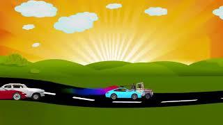 2 часа музыки и детские автомобили - гонка мечты - музыка перед сном - песни перед сном