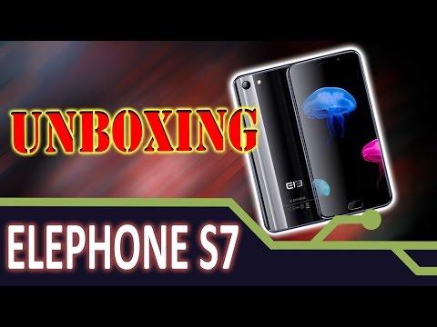 📱  ELEPHONE S7 - UNBOXING - UM SMARTPHONE DE UMA BELEZA ESPLENDIDA.