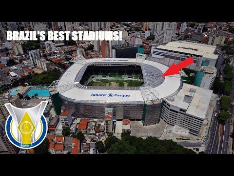 Brazil Série A 2021 Stadiums