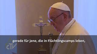 Papst Universitäten für Flüchtlinge