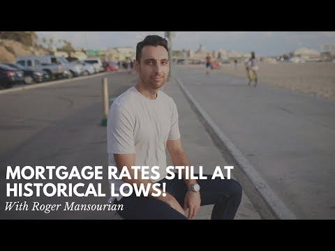 Mortgage Rates STILL at Historical Lows!