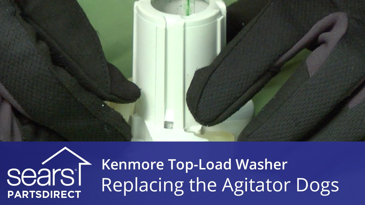 How To Replace The Agitator Dogs On A Kenmore Vertical Modular Diagram For Upper Part Of Basket Drive System 80 Youtube Premium