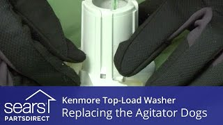 How to Replace the Agitator Dogs on a Kenmore Vertical Modular Washer (VMW)