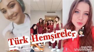 Türk Hemşirelerden Yeni Akımlar👩🏻⚕️Tiktok /Musically 2018