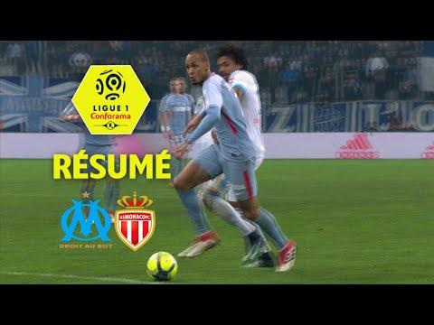 Olympique de Marseille - AS Monaco (2-2)  - Résumé - (OM - ASM) / 2017-18