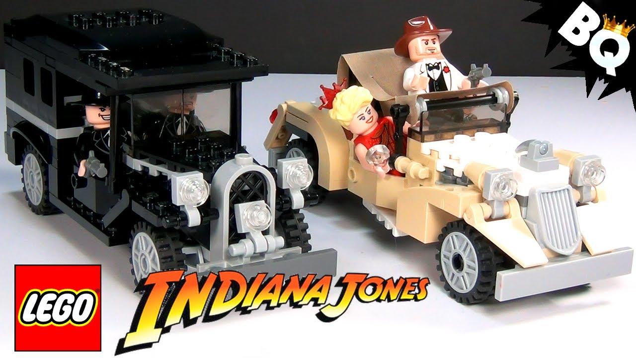 LEGO Indiana Jones Shanghai Chase 7682 Build & Review - BrickQueen - YouTube