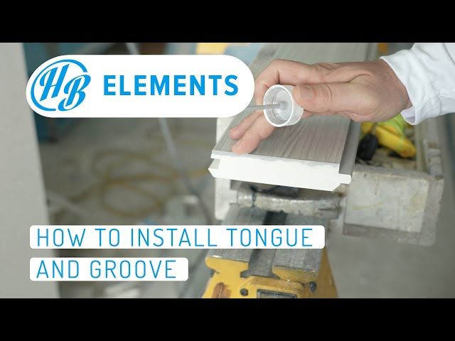 How to Install Tongue and Groove | Hardie Boys