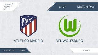 Ahletico Madrid 7:7 Wolfsburg, 4 тур