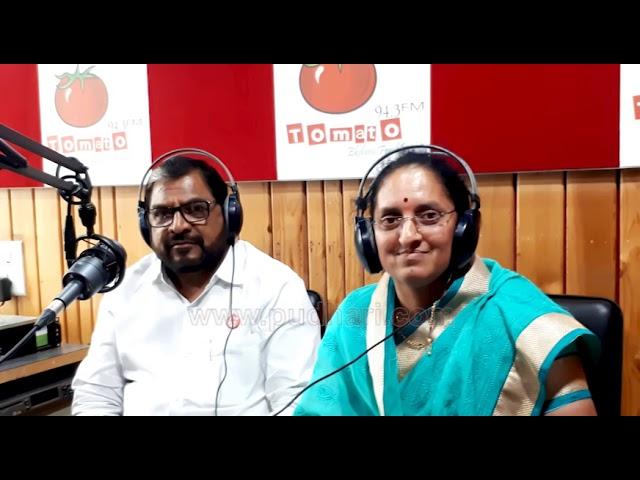 खासदार राजू शेट्टी आणि सौ. संगीत राजू शेट्टी... मेड फॉर इच अदर मध्ये ...