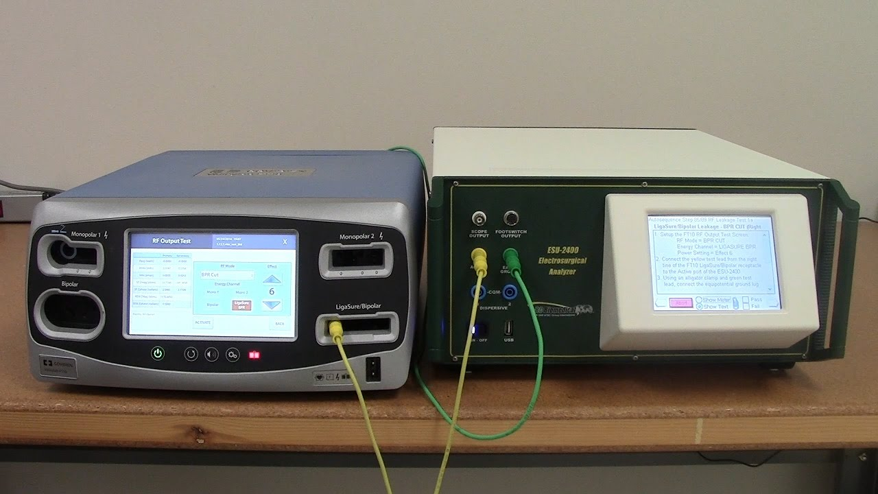 Covidien Valleylab FT10 PM Procedure Using the ESU-2400 Autosequence