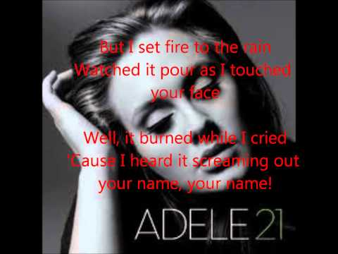 Set Fire to the Rain- Adele (Live at The Royal Albert Hall