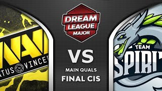 NaVi vs Spirit CIS Final Leipzig Major DreamLeague S13 2019 Highlights Dota 2