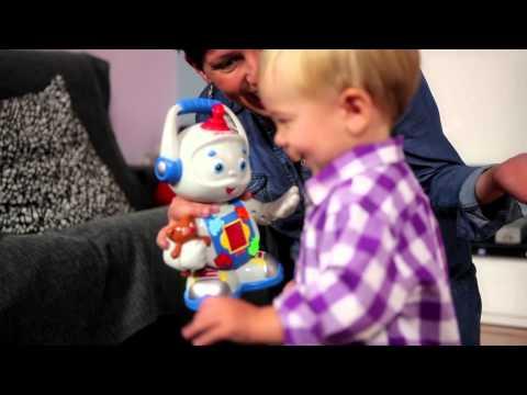 Fisher-Price® Toby Le Robot Bilingue