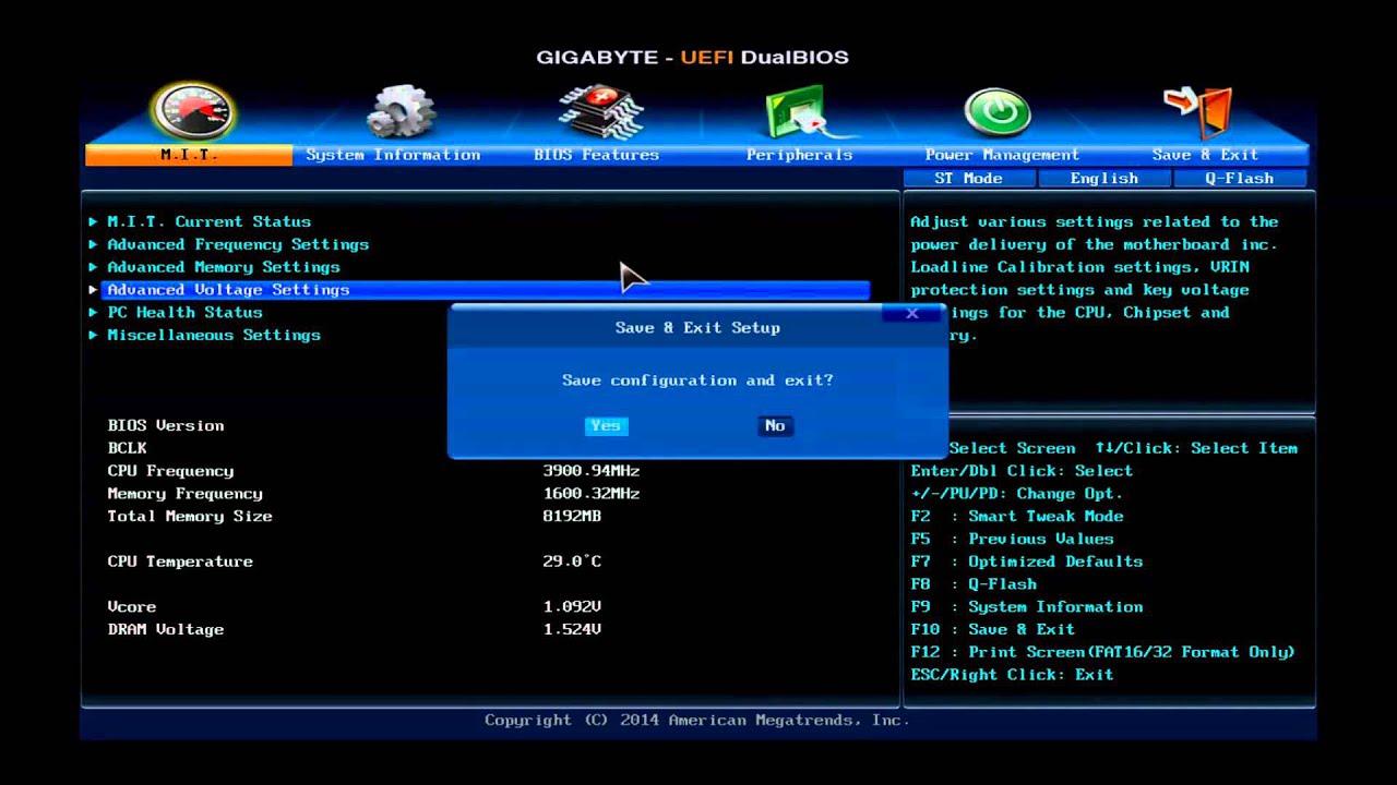 GIGABYTE G1 Sniper Z97 [CPU OC Guide] Overclocking Guide 4670K, 4690K,  4770K, 4790K