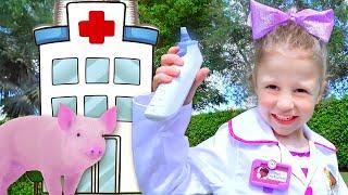 Stacy spielt in einer Tierklinik