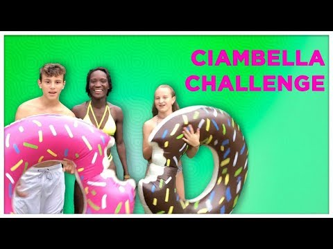 CIAMBELLA CHALLENGE IN PISCINA by LUKAS