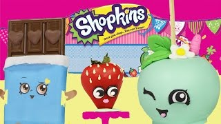 SHOPKINS Character Treats - NO BAKE Shopkins Candy Apple, Chocolate, Cookie & Donut Cake