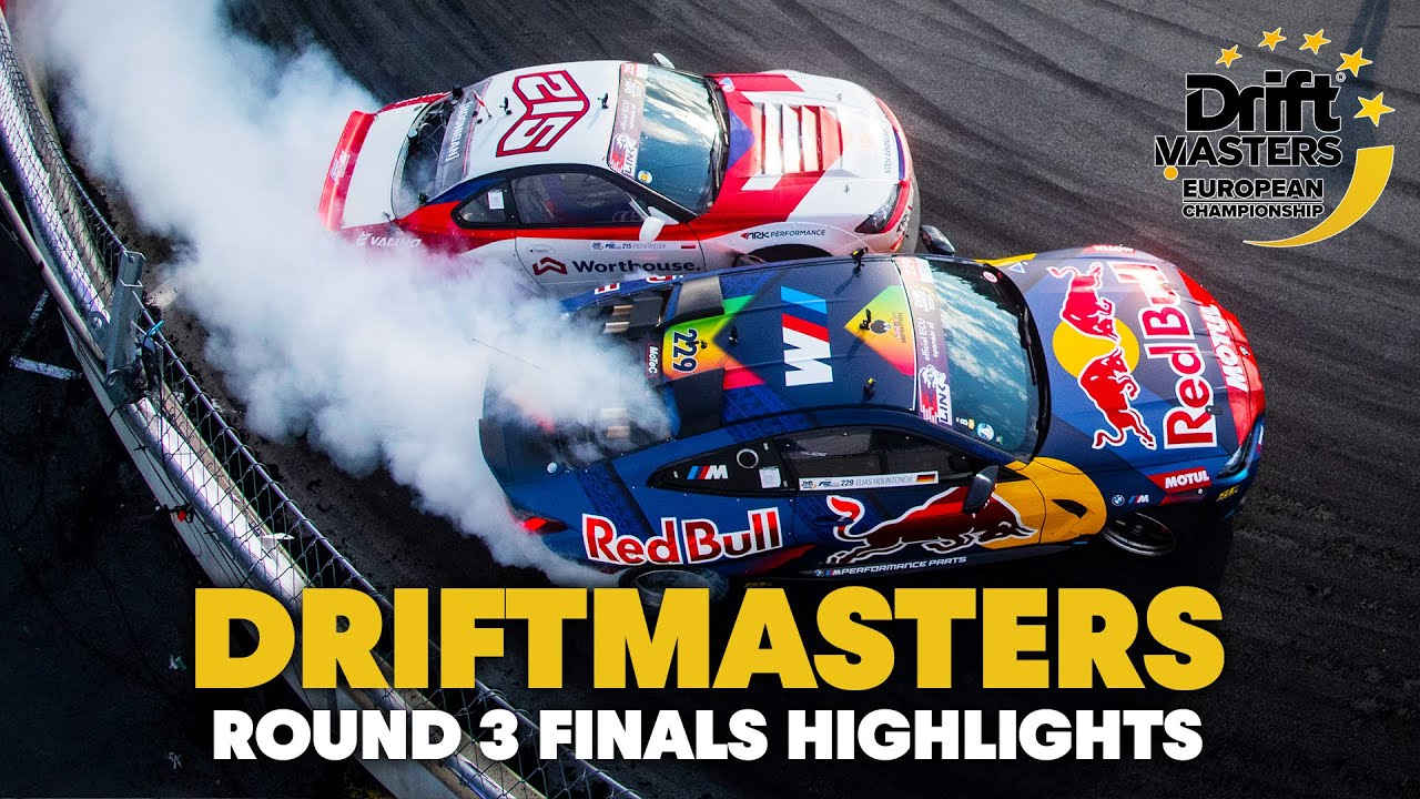 2021 Driftmasters European Championship: Round 3 Finals Highlights