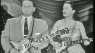 Les Paul & Mary Ford- Live Medley