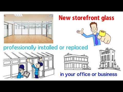 Storefront Glass San Diego - Commercial Window Door Install