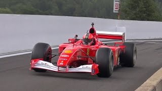 Ferrari Formula 1 V10 PURE EXHAUST SOUNDS!!