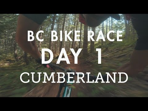 BC Bike Race - Day 1 - Cumberland | It gets a bit chaotic!
