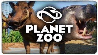 РЕАЛЬНЫЙ СИМУЛЯТОР ЗООПАРКА! - Planet Zoo