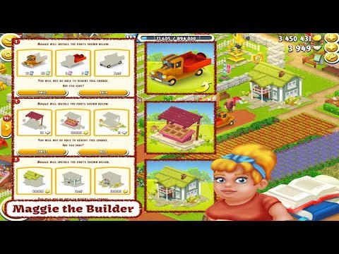 Hay Day Maggie The Builder Youtube