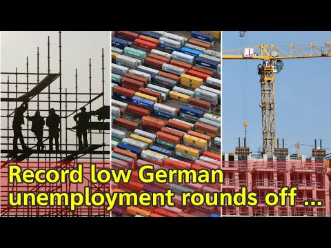 Record low German unemployment rounds off strong 2017