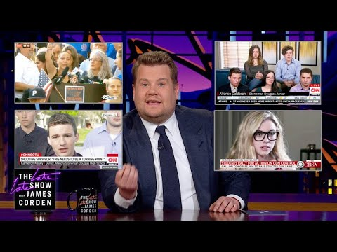 James Corden on Gun Control in America
