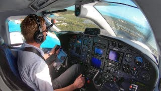 FACING MY FEARS! - TBM850 Bahamas Flight VLOG