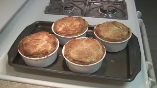 Fun With Leftovers! Making Turkey Pot Pies!