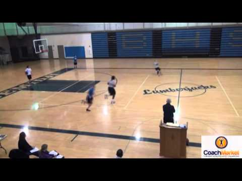 Over the top Basketball Drill ( Jerry Krause)  www.coachmarket.net  Video