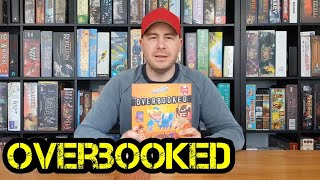 Overbooked - Review - Regeln - Brettspiel - Boardgame Digger