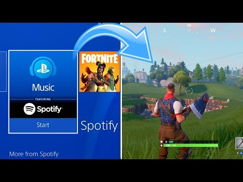 How To PLAY MUSIC On PS4 While Playing A Game (EASY METHOD)