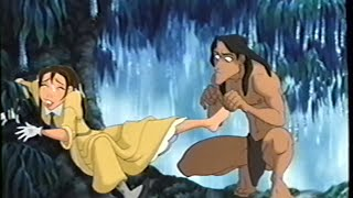 Tarzan (1999) Trailer (VHS Capture)
