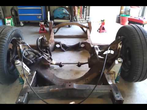 Toyota Factory Parts >> Toyota Stout - Air Bag suspension install - YouTube