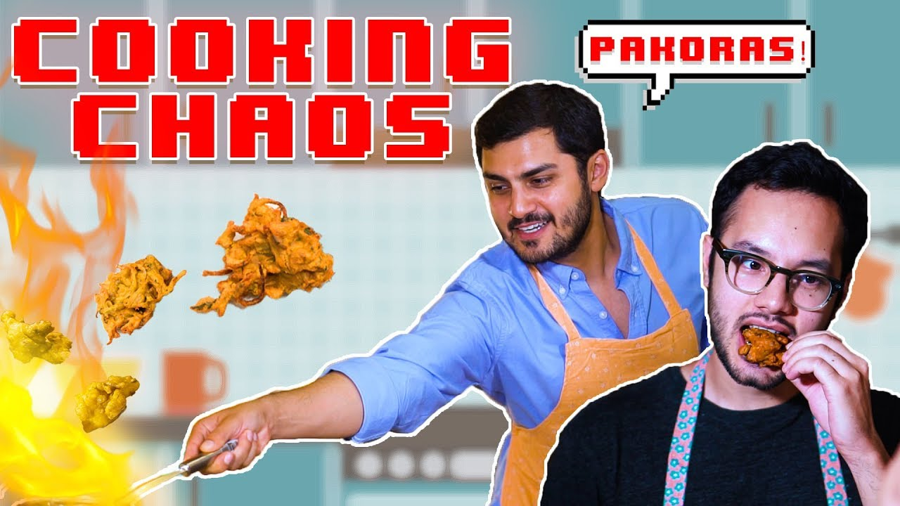 We made a viral PAKORA recipe for Ramazan! | Cooking Chaos - Episode 1 | MangoBaaz