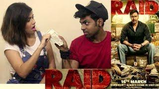 RAID 2018 TRAILER REACTION & REVIEW   BEST COUPLE REACTION ON RAID 2018   AJAY DEVGN   RAID 2018  