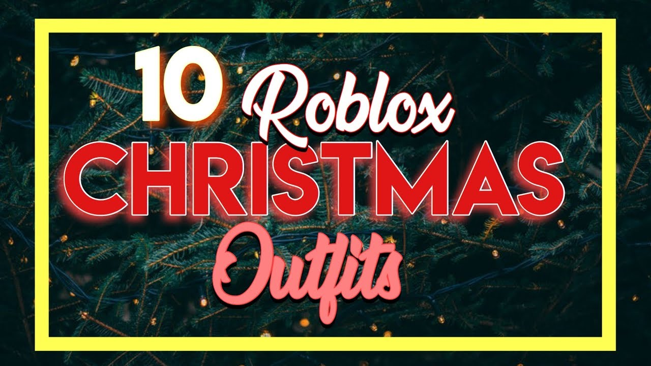 37e80b2aa745 ROBLOX CHRISTMAS OUTFITS !(boys and girls) - YouTube