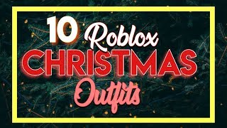 ROBLOX CHRISTMAS OUTFITS ! (boys and girls)