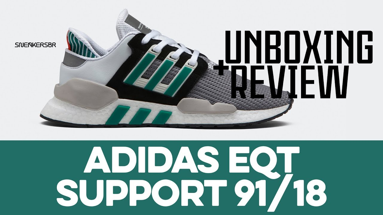UNBOXING+REVIEW adidas EQT Support 9118