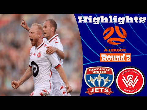 Newcastle Jets Western Sydney Wanderers Goals And Highlights