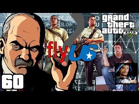 """Grand Theft Auto 5 """"Aktien Spekulation für FlyUS"""" #60 🏎 DEUTSCH"""